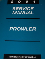 2001 Chrysler / Plymouth Prowler Factory Service Manual