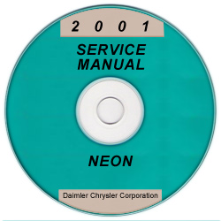 2001 Dodge / Plymouth Neon Service Manual - CD Rom