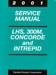 2001 Chrysler LHS, 300M, Concorde and Dodge Intrepid Service Manual