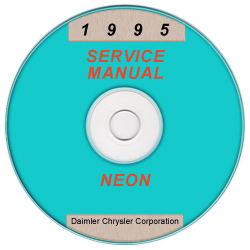 1995 Dodge Neon (PL) Service Manual - CD-ROM