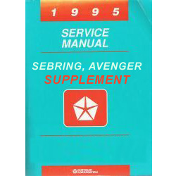 1995 Chrysler Sebring and Dodge Avenger (FJ) Service Manual Supplement