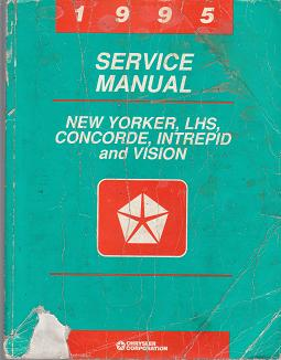 1995 LHS, Concorde, Intreped, New Yorker, Vission LH Service Manual