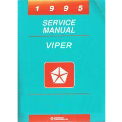1995 Dodge Viper (SR) Service Manual