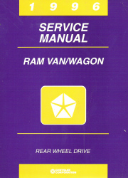 1996 Dodge Ram Van / Wagon Rear Wheel Drive Service Manual