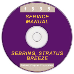 1996 Chrysler, Dodge, Plymouth Sebring, Stratus, Cirrus & Breeze (JA) Service Manual On CD