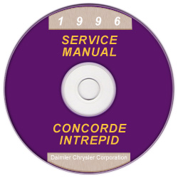 1996 Chrysler, Dodge, Plymouth Concorde, Intrepid, New Yorker, LHS Vision LH Service Manual on CD