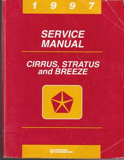 1997 Chrysler Cirrus / Dodge Stratus/ Plymouth Breeze Factory Service Manual