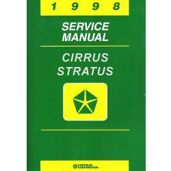 1998 Chrysler Cirrus / Dodge Stratus / Plymouh Breeze (JA) Service Manual