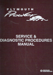 1997 and 1999 Plymouth Prowler Factory Service & Procedures Manual
