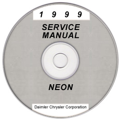 1999 Dodge Neon Service Manual - CD Rom