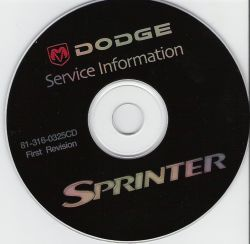 2003 Dodge Sprinter Factory Service Manual - CD-ROM
