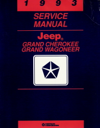 1993 Jeep Grand Cherokee & Grand Wagoneer Factory Service Manual