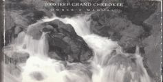 2000 Jeep Grand Cherokee Owner's Manual