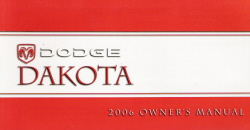 2006 Dodge Dakota Owner's Manual