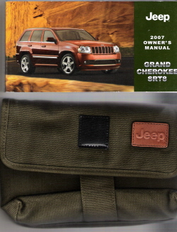 2007 Jeep Grand Cherokee SRT8 Owner's Manual