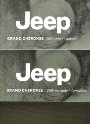2009 Jeep Grand Cherokee Factory Owner's Manual