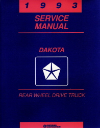 1993 Dodge Dakota Factory Service Manual