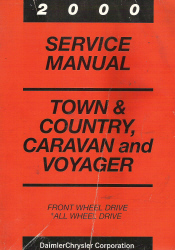 2000 Chrysler Town & Country Service Manual