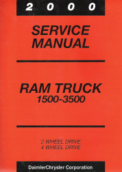 2000 Dodge Ram Truck Service Manual