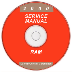 2000 Dodge Ram Truck Service Manual - CD Rom