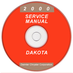 2000 Dodge Dakota Service Manual - CD Rom
