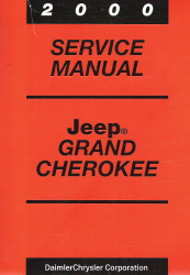 2000 Jeep Grand Cherokee Service Manual