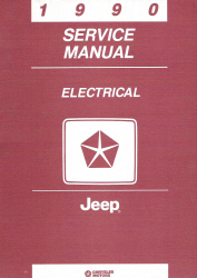 1990 Jeep Electrical Service Manual