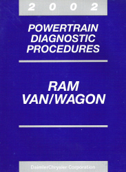 2002 Dodge Ram Van/Wagon Powertrain Diagnostic Procedures