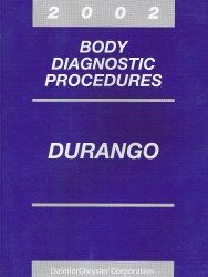 2002 Dodge Durango Body Diagnostic Procedures