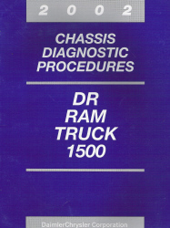 2002 Dodge DR Ram Truck 1500 Chassis Diagnostic Procedures