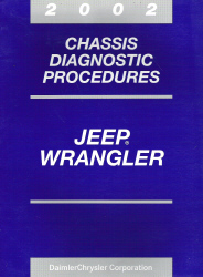 2002 Jeep Wrangler Chassis Diagnostic Procedures