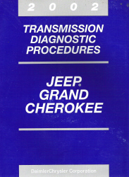 2002 Jeep Grand Cherokee Transmission Diagnostic Procedures