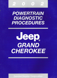 2002 Jeep Grand Cherokee Powertrain Diagnostic Procedures