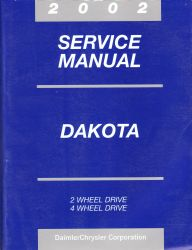 2002 Dodge Dakota Service Manual