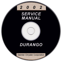 2002 Dodge Durango Service Manual - CD Rom