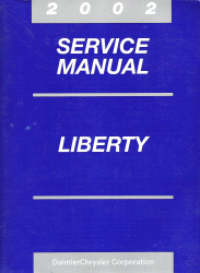 2002 Jeep Liberty Service Manual