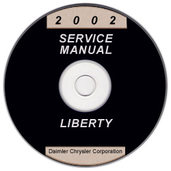 2002 Jeep Liberty Service Manual - CD Rom