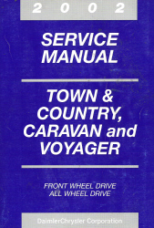 2002 Chrysler Town & Country, Dodge Caravan & Plymouth Voyager Service Manual