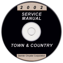 2002 Chrysler Town & Country, Dodge Caravan & Plymouth Voyager Service Manual - CD Rom