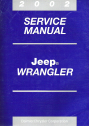 2002 Jeep Wrangler Service Manual