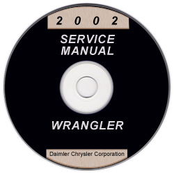 2002 Jeep Wrangler Service Manual - CD Rom