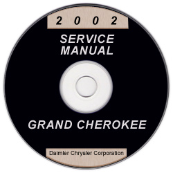 2002 Jeep Grand Cherokee Service Manual - CD Rom