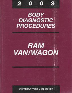 2003 Dodge Ram Van/Wagon Powertrain Diagnostic Procedures