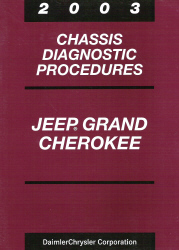 2003 Jeep Grand Cherokee Chassis Diagnostic Procedures