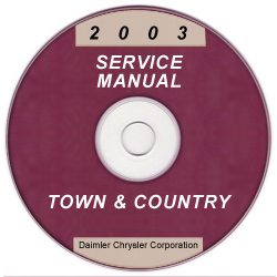 2003 Chrysler Town & Country Service Manual - CD Rom