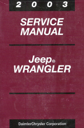 2003 Jeep Wrangler Service Manual