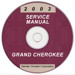 2003 Jeep Grand Cherokee Service Manual - CD Rom