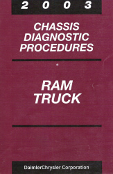 2003 Dodge Ram Chassis Diagnostic Procedures