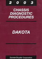 2003 Dodge Dakota Chassis Diagnostic Procedures