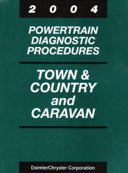 2004 Chrysler Town & Coutnry and Dodge Caravan Factory Powertrain Diagnostic Procedures Manual